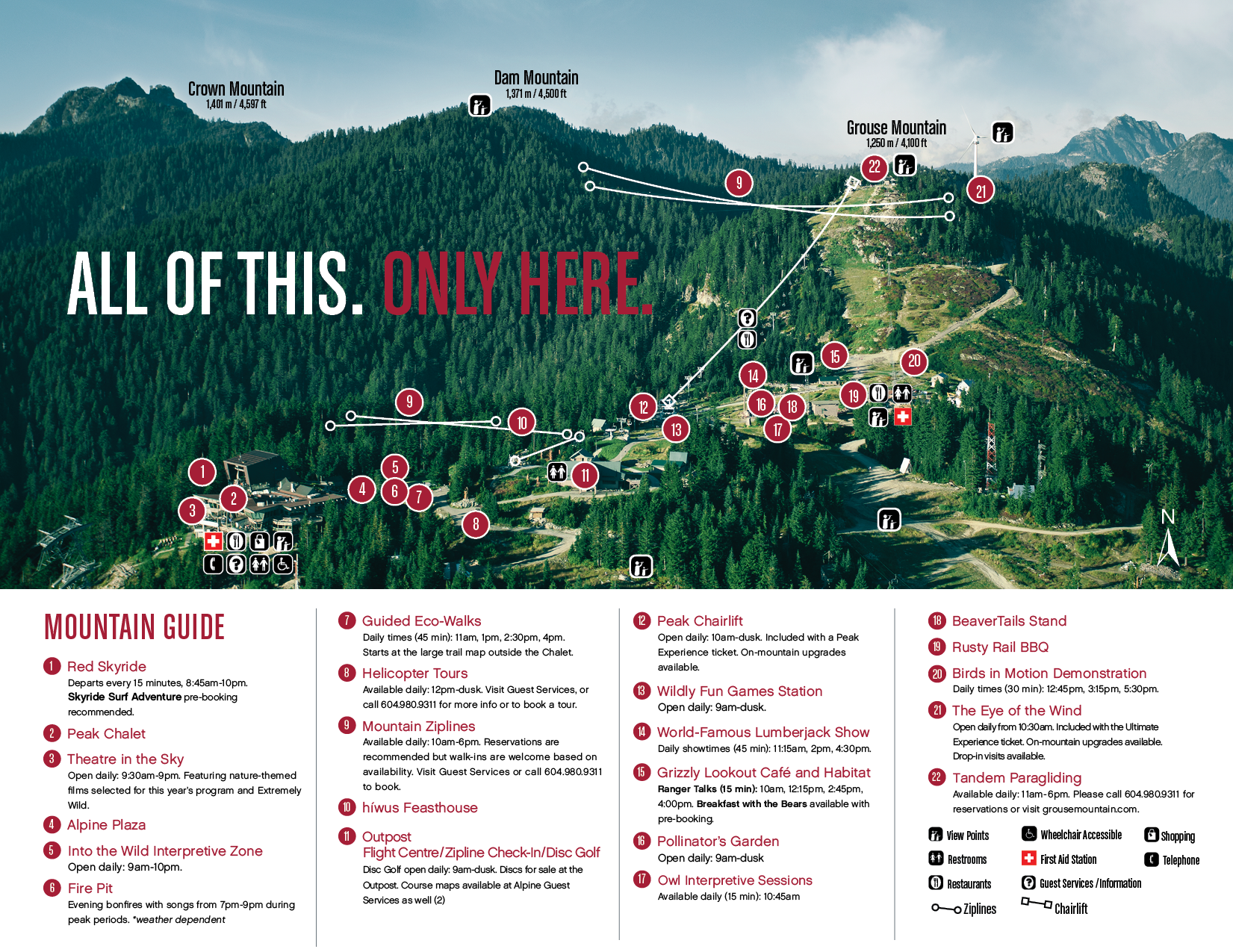 Maps grouse mountain the peak of vancouver download pdf map sciox Image collections