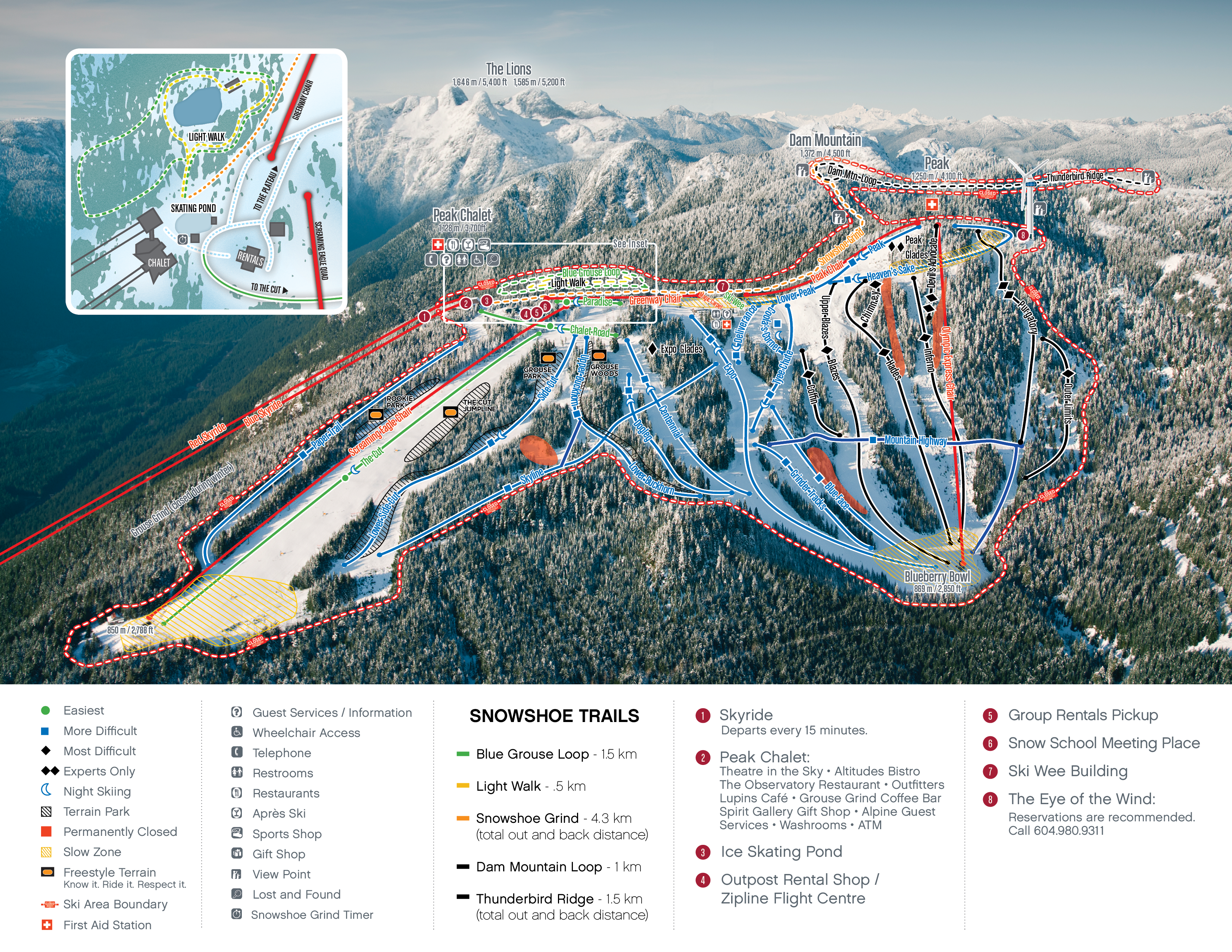 Maps winter map grouse mountain the peak of vancouver download pdf map gumiabroncs Images